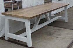 Eettafels glans wit van hout prijsbest